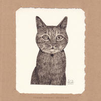坂本千明 紙版画「猫10」*シート