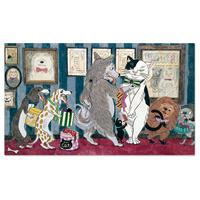 石黒亜矢子「犬のネクタイ屋さん」A4カード