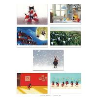 牧野千穂 ポストカード(絵本)7枚組