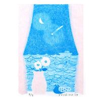 芳野「窓 ー春眠ー」*シート