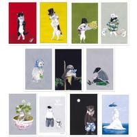 庄野ナホコ ポストカード1