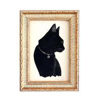 坂本千明 紙版画「猫14」*額装品