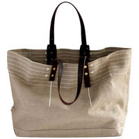 CANVAS TOTE L-size #WHITE