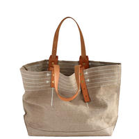 CANVAS TOTE M-size #WHITE