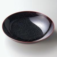牡丹彫 盛鉢(溜)