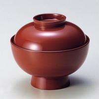 雑煮椀(朱)