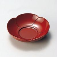 福梅茶托(古代朱)5枚セット
