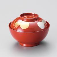 瓢箪 雑煮椀(朱)