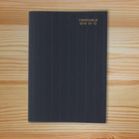 【SALE】大人の時間割帳2019.10-12(ばら売り)
