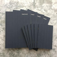 【先行予約特典付きA】大人の時間割帳(日付なし)4冊・セビロメモ帳6冊のセット