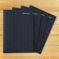 大人の時間割帳(日付なし)4冊セット