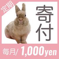 マンスリーサポーター(1口1000円から)