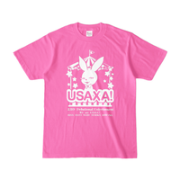 NEW USAXA!Tシャツ ピンクver