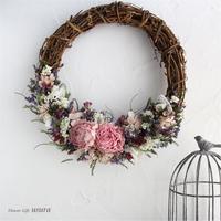 フェリシタシオン ~Félicitations~ / ドライフラワーリース