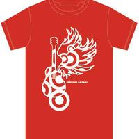 【赤ロゴ】サザキTシャツ〜2020夏 vr