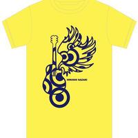【黄ロゴ】サザキTシャツ〜2020夏 vr