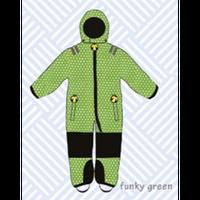 ducksday Toddler snow suit Funky green (98-104cm ~ 110-116cm )