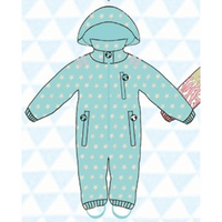 ducksday Rain suits Ben  (98-104cm~110-116cm)