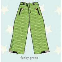 ducksday Lined winter pants Funky green ( 8y / 10y / 12y )
