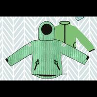 ducksday Detachable fleece&jacket Lex ( 8y / 10y / 12y )