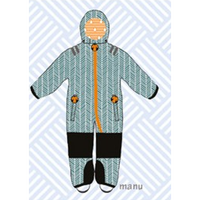 ducksday Toddler snow suit Manu (98-104cm ~ 110-116cm )