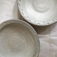 リムドット柄鉢