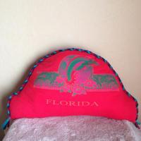 nekotani made「nekotani クッション」 used Tシャツ リメイク クッション 「Florida Dolphin」フロリダ ドルフィン
