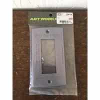 アートワークスタジオ 3口用 スイッチプレート  ART WORK STUDIO INTERIORPRODUCTS  ブルー