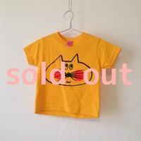 ▲送料無料  80サイズ/半そで ねこもぐらさんTシャツR 5.5oz uyoga cat mole デイジー ほっぺあり 794番目のねこもぐらさん
