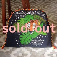 nekotani made「nekotani クッション」 used Tシャツ リメイク クッション 「zoo トラ」zoo tiger
