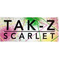【TAK-Z】 TOWEL -SCARLET- (WHITE)