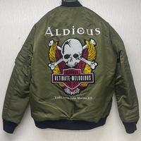 Aldious結成12周年記念「Aldious MA-1 JACKET」※3次受注分