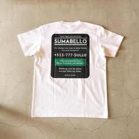 SULLO ADDRESS TEE  (2color)