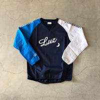 【ジュニア】LUZ eSOMBRA Jr.CRAZY PATTERN PULLOVER PISTE TOP  (3color)