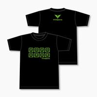 V3 オリジナルTシャツ 2020 SUMMER Ver. Aタイプ (黒)