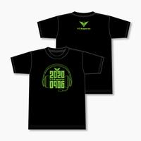 V3 オリジナルTシャツ 2020 SUMMER Ver. Bタイプ (黒)