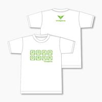 V3 オリジナルTシャツ 2020 SUMMER Ver. Aタイプ (白)