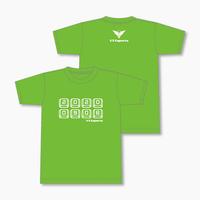 V3 オリジナルTシャツ 2020 SUMMER Ver. Bタイプ (緑)
