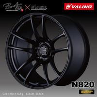 VALINO N820 18in×9.5J +12 [早得&超軽量体感キャンペーン価格]