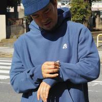 TACOMA FUJI RECORDS, TACOMA FUJI LOGO embroidery hoodie