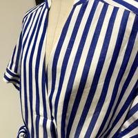 ACASAM  STRIPED SHIRT DRESS