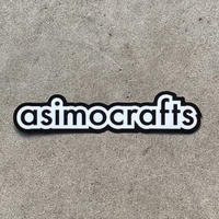 asimocrafts,asimocraftsステッカー
