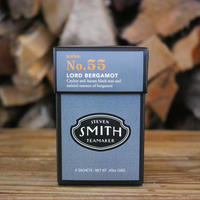 STEVEN SMITH TEA MAKER, BLACK TEA No.55 LORD BERGAMOT Tip0-Top 6ct