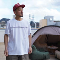 South2 West8,S/S Crew Neck Tee - WILDFLOWERS AND WINE