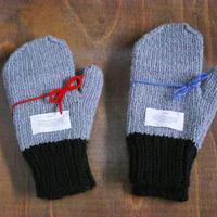holk, hand-knitted gloves