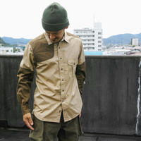 TAKE&SONS Shooting Shirt  カーキ