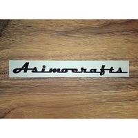 asimocrafts,エンブレムステッカー