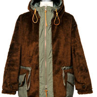 Monitaly,Kodiac Fur Coat