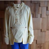 ASEEDONCLÖUD, Big hoodie/Silky typewriter cloth