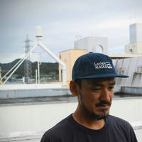 TACOMA FUJI RECORDS, Lodge ALASKA LOGO CAP